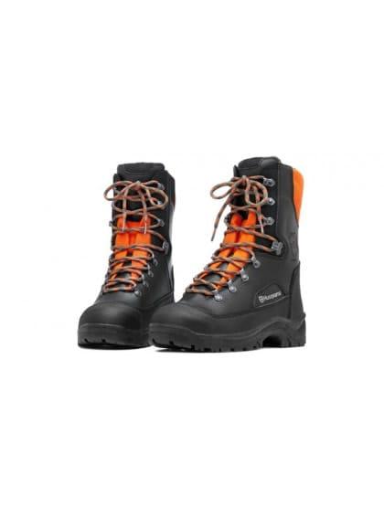 Ботинки кожаные с защитой от пореза бензопилой Classic 41