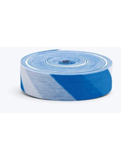 Лента маркировочная синяя/белая  Husqvarna 20 мм 70 м