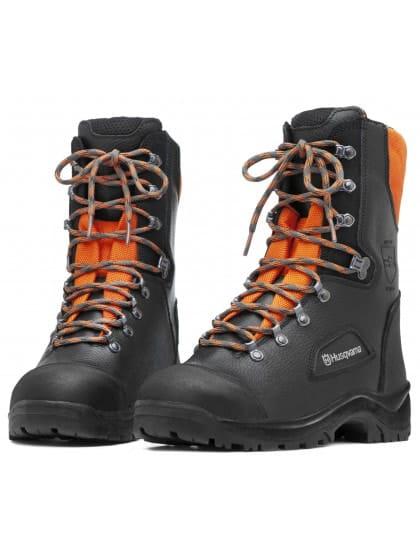 Ботинки кожаные с защитой от пореза бензопилой Classic 40