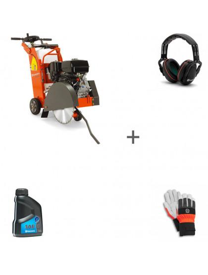 Швонарезчик бензиновый Husqvarna FS 400 LV + наушники + перчатки + масло в подарок!