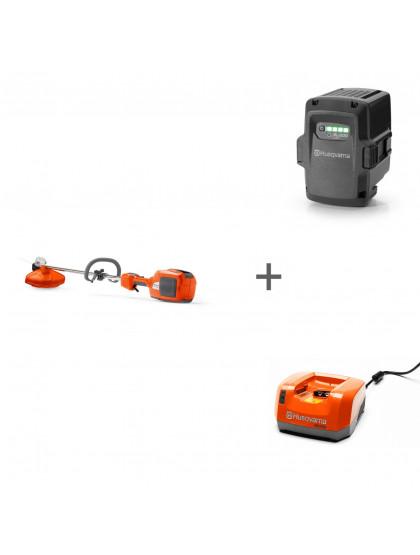 Триммер аккумуляторный Husqvarna 520iLX + аккумулятор BLi200 и зарядное устройство QC 330