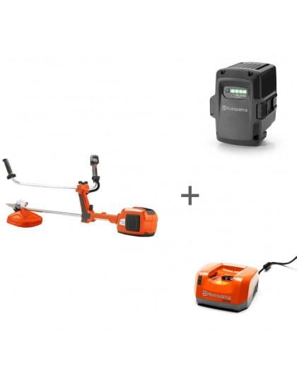 Триммер аккумуляторный Husqvarna 536LiRX + аккумулятор BLi200 и зарядное устройство QC 330