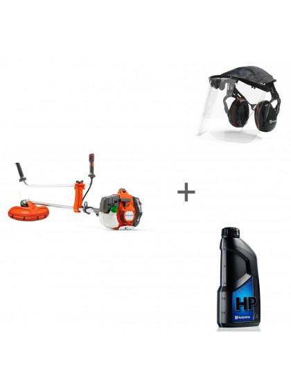 Триммер бензиновый Husqvarna 535RX + наушники с маской и масло в подарок!