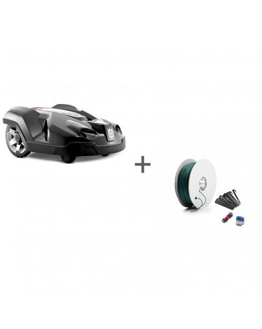 Газонокосилка-робот Husqvarna Automower 315 Connect Home + Комплект для установки Средний в подарок!