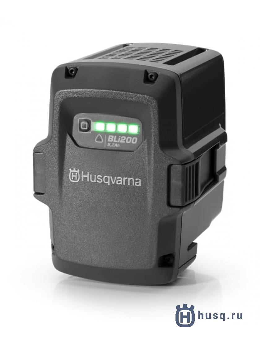 Аккумуляторный воздуходув Husqvarna 525iB + аккумулятор BLi200 и зарядное устройство QC 330