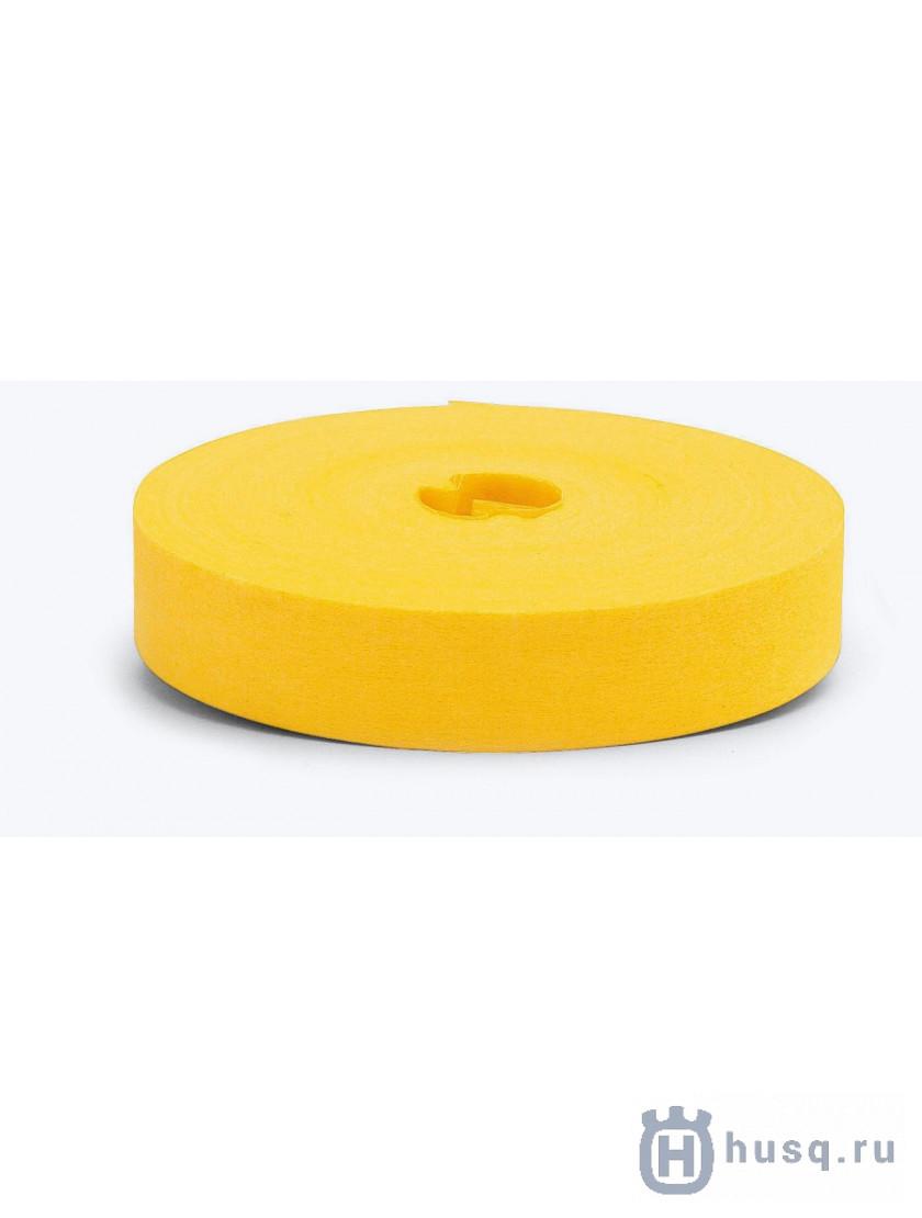 Лента маркировочная желтая  Husqvarna 20 мм 75 м