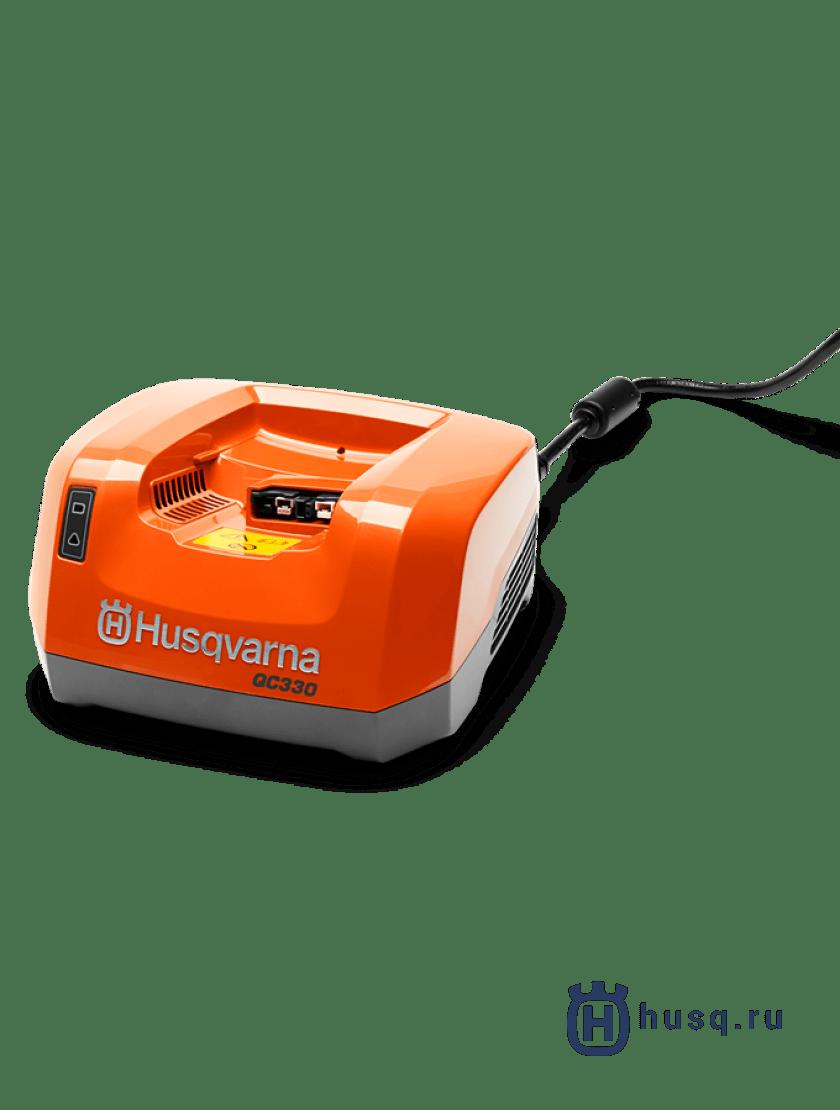 Газонокосилка аккумуляторная Husqvarna LC 141Li + аккумулятор BLi200 и зарядное устройство QC 330