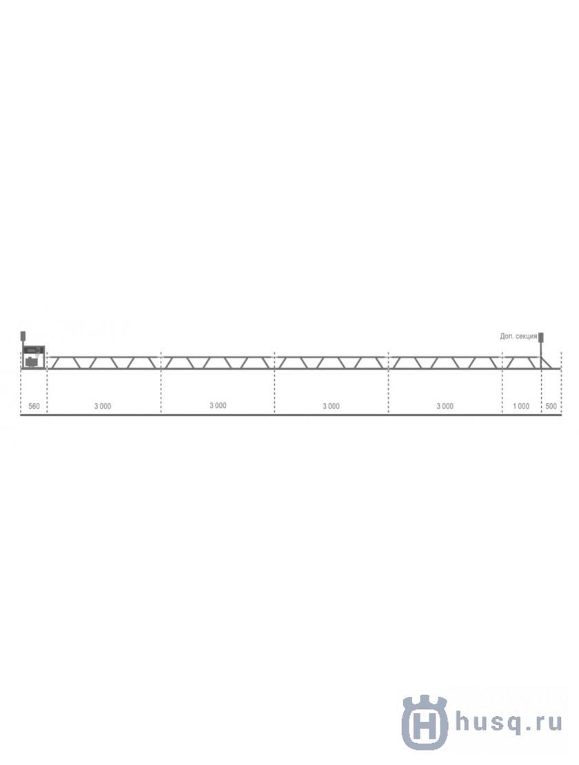 Уширитель для BT 90 Husqvarna (Atlas Copco) длина 0,5м