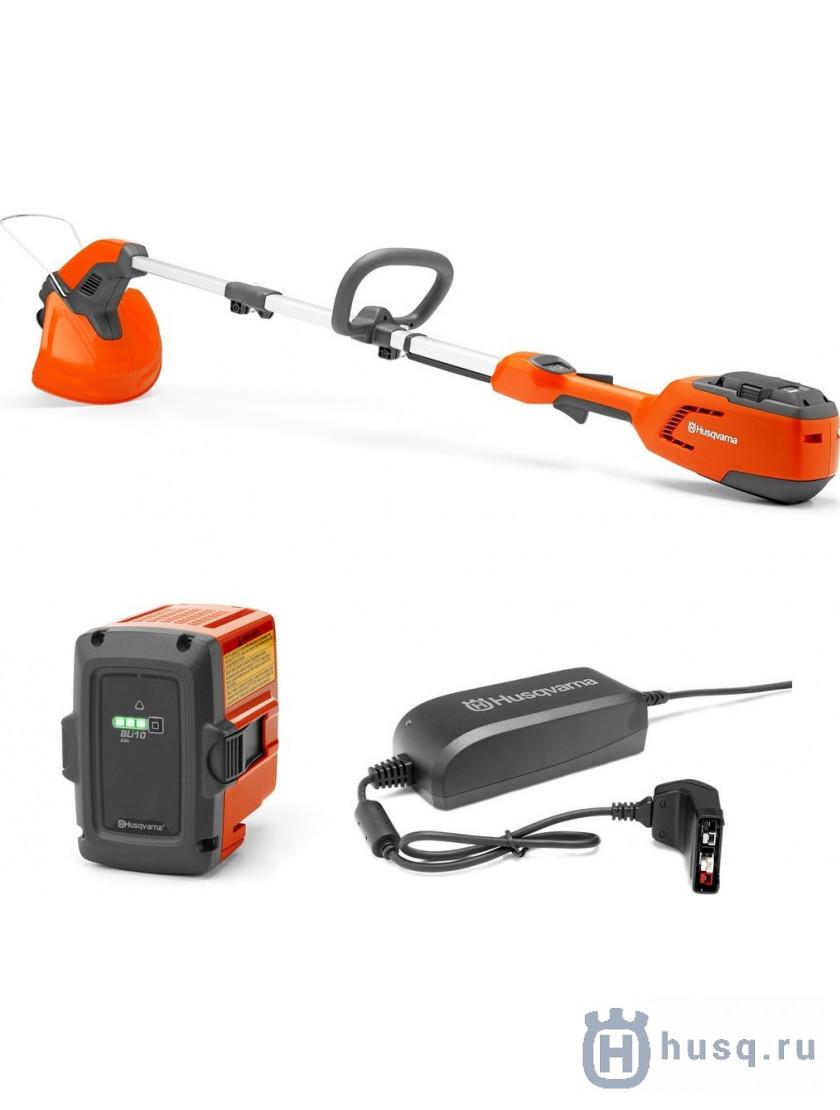 115 iL + аккумулятор BLi10 и зарядное устройство QC80 9670988-02 в фирменном магазине Husqvarna