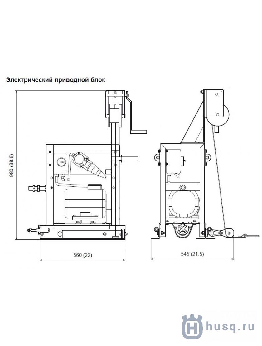 Привод электрический Husqvarna (Atlas Copco) BT 90 E
