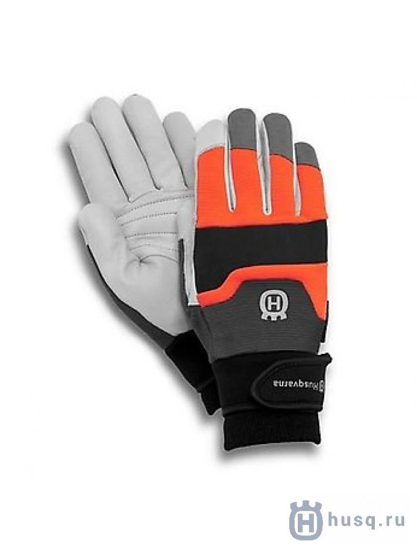 Перчатки с защитой от порезов бензопилой Husqvarna Functional 9р