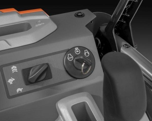 Запуск двигателя с помощью ключа